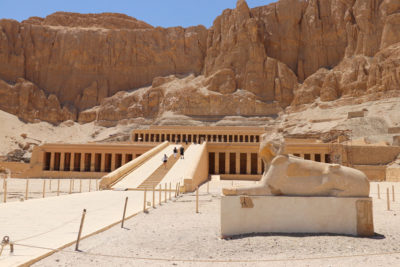 The Temple of Hatshepsut in Egypt