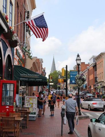 Streets of Annapolis, Maryland