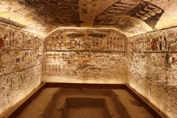 Ramses IX's tomb in the Valley of the Kings