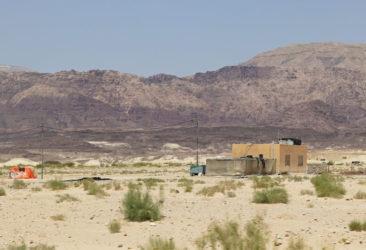 Bedouin camps