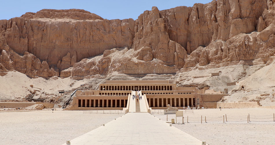 Temple of Hatshepsut near the Valley of the Kings