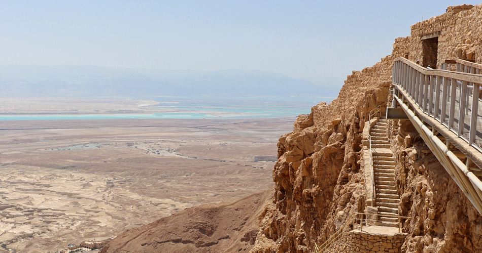 The Fortress of Masada, Israel