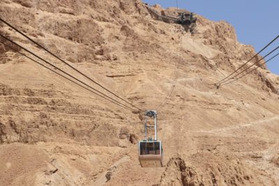 Masada Tram to the top