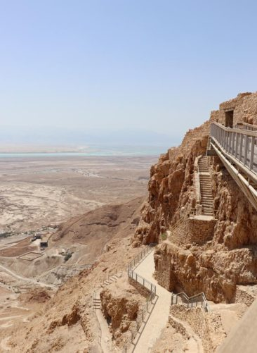 The stairway to Masada