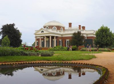 The fish pond at Monticello