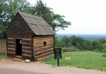 Slave housing at Monticello