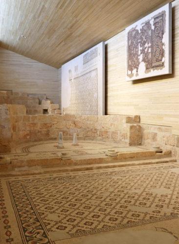 Mosaic at the Basilica of Moses
