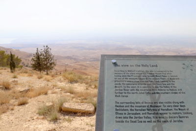 The view from Mount Nebo