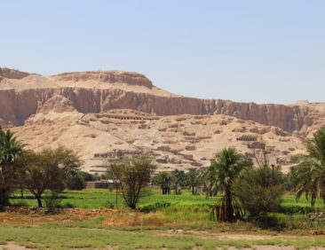 Tombs in Luxor, Egypt