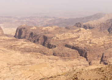 The view of the Petra valley