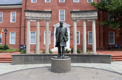 Thurgood Marshall Memoria lin Annapolis, Maryland