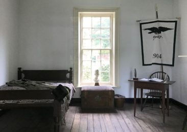 Edgar Allan Poe's room at UVA