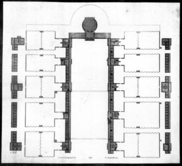 Jefferson's blueprints for UVA