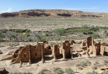 Chetro Ketl in Chaco Canyon