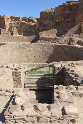 Chetro Ketl in Chaco Canyon