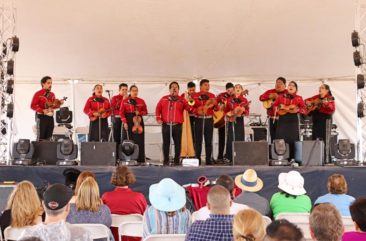 Live music at the Hatch Chile Festival in New Mexico