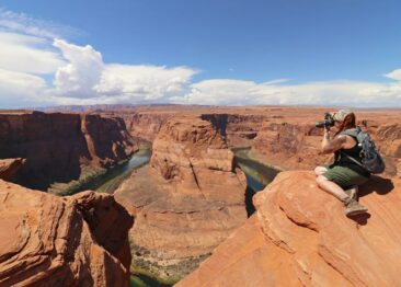 Horseshoe Bend- be careful on the ledge!