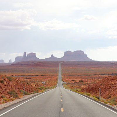 Forrest Gump Point outside Monument Valley