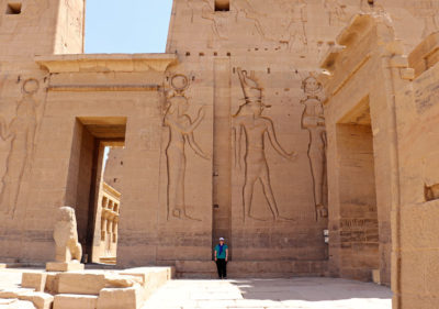 Philae Temple Hieroglyphs