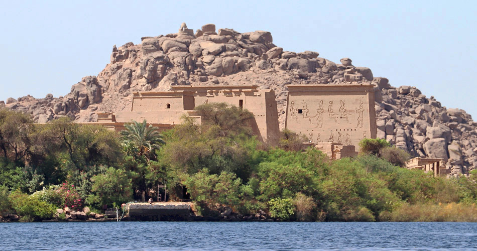 The Island Temple of Philae, Egypt