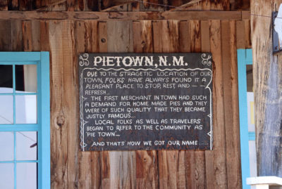 Pie Town, New Mexico