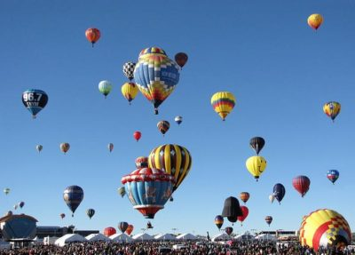 Albuquerque International Balloon Fiesta - Photo via Wikipedia