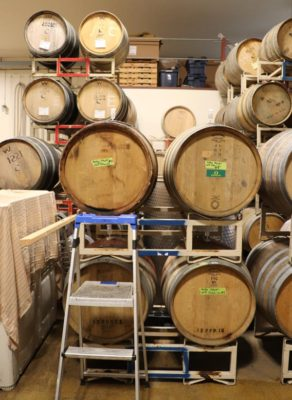 Oregon Wine Barrels