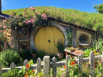 Hobbiton Movie Set in New Zealand
