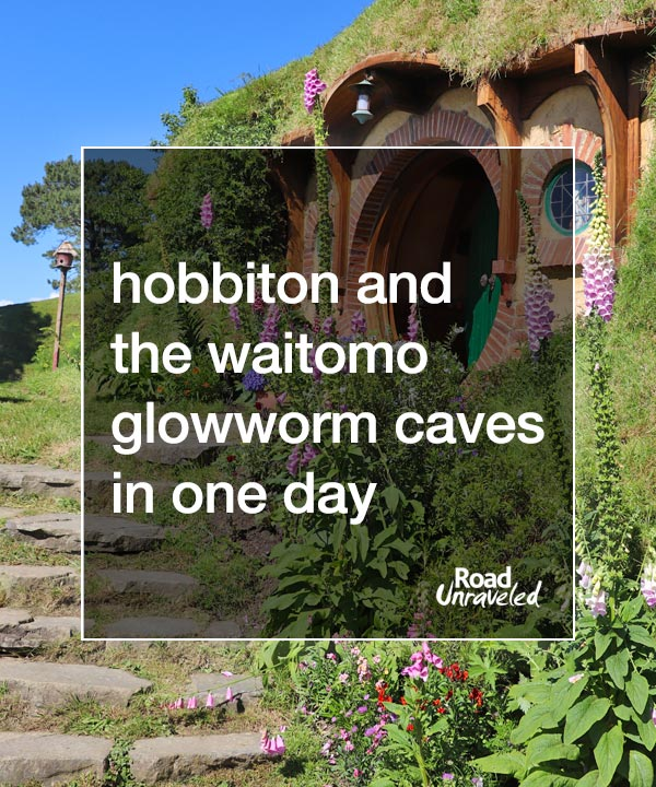 Hobbiton and the Waitomo Glowworm Caves in One Day from Auckland, New Zealand