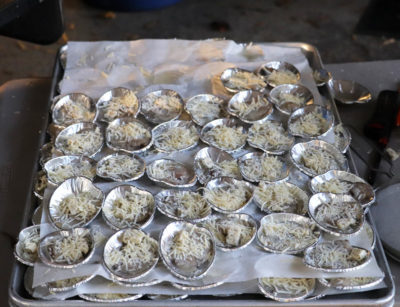 Grilled Oysters Denson