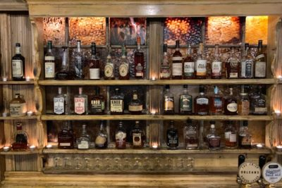 Great Bourbon selection at Orleans
