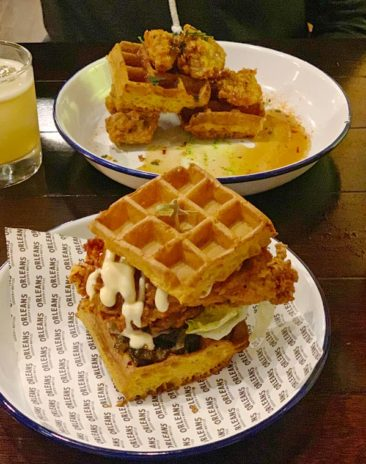 Chicken and Waffles in Auckland
