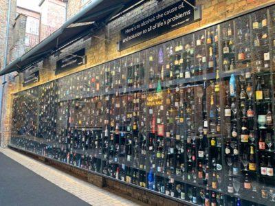 Bruges Beer Wall