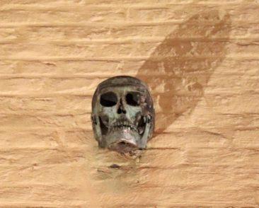 The Smedenpoort Skull in Bruges
