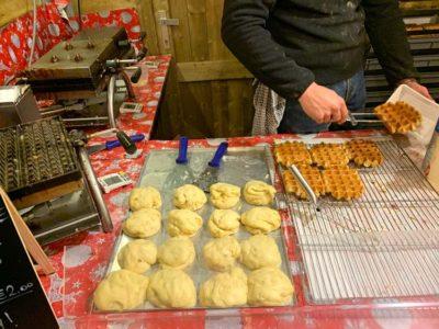 Waffles in Bruges