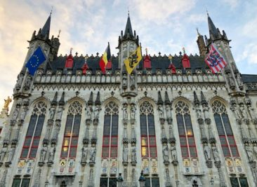 Bruges Stadhuis City Hall