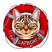 De Poezenboot Catboat Logo