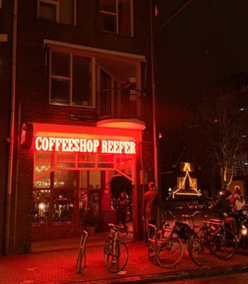 Coffeshop in Amsterdam