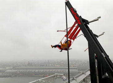 The Over the Edge Swing in Amsterdam