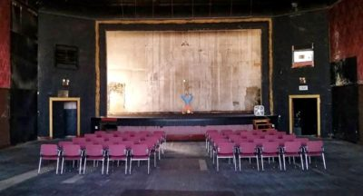 Johnson Hall Theater in Gardiner, Maine