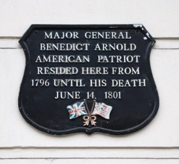 Benedict Arnold's House in London