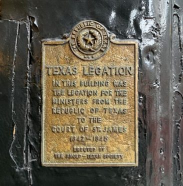 The Embassy of Texas in London