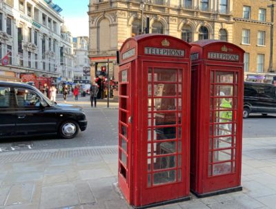 The Red Phone Booths