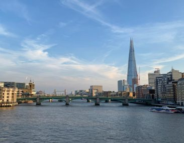 The Shard and the London Skyline
