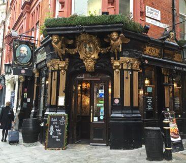 The Salisbury Pub in London