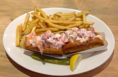 Lobster Roll at Robert's Maine Grill
