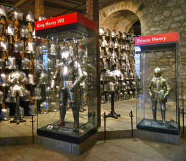Exhibit in the Tower of London