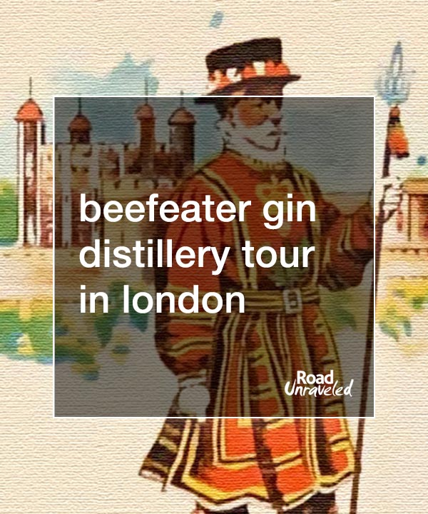 Beefeater Distillery Tour: Celebrating Gin in London