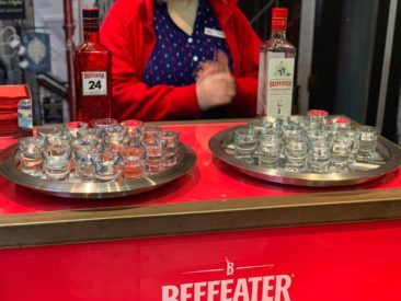 Beefeater Distillery Tour samples