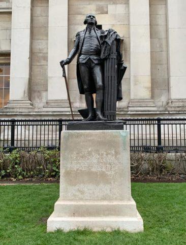 George Washington in Trafalgar Square